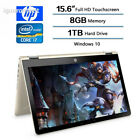 HP Flagship Convertible 2-in-1 15.6 inch Touchscreen FHD IPS Laptop (1920 x...