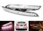 2 for BMW 3-Series F30 F31 F35 LED Bumper Reflector Clear Lens Backup Tail Light