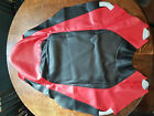 8FA-2470F-30 YAMAHA SNOWMOBILE SEAT COVER (red black)