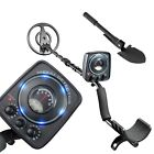Waterproof Metal Detector Deep Sensitive Search Gold Digger Hunter Finder 6.3""