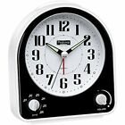 Peakeep Non-ticking Alarm Clocks Silent Clock, Optional Wake-up Sounds With And