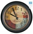 Home Decor Medium Analog Round Indoor Wall Vintage Clock