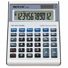 Victor 6500 Executive Desktop Loan Calculator, 12-Digit LCD - VCT6500