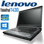 Lenovo T430 -Core i5-3320@ 2.6 GHZ/ 8GB DDR3 /128GB SSD/ Webcam/Win 10 Pro!
