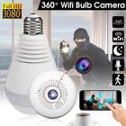 Wireless 360 Security Camer, Hidden Fish Eye Security, Camera IP Light Bulb,...
