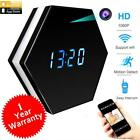 CAMXSW Wifi Spy Camera Alarm Clock Hidden 4500mAh HD 1080P With IR Night...