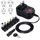 Universal AC/DC Power Supply Adaptor Plug Charger Adaptor 3V-12V 30W