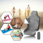 Gray Sweat Towel Car Seat Cover Mat Water Yoga Gym Swimming Beach Outdoor Sports