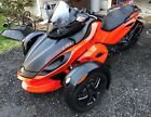 2012 Can-Am RSS  2012 Can-Am Spyder RS-S Motorcycle Low Mileage Garage Kept One Owner Orange