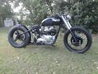 1967 Triumph Trophy  T1967 triumph trophy bobber custom build. T120