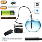 5M Wireless HD 1080P Waterproof WIFI Camera Inspection Endoscope Set For iPhone