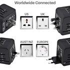 LONGET Travel Adapter International Universal Power Adapter All-in-one
