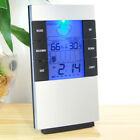 Electronic Digital LCD Thermometer Clock Temperature Humidity Hygrometer
