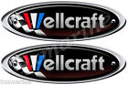 Two Wellcraft Boat Remastered Oval Sticker for Restoration Project