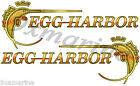 """Two Egg Harbor 10"""" Stickers"""