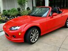 2008 Mazda MX-5 Miata  CANDY APPLE RED CONVERTIBLE HARD TOP w/ Only 19,000 Miles!