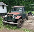 1954 Willys Pickup -- 1954 jeep willys Pickup Truck
