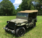 1943 Willys MB WWII 1943 Willys Jeep MB Military WWII Museum Quality