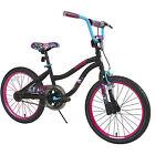 Girls Bike 20 Inch Custom Graphics Front Hand Brake Handle Bar Bag One Speed