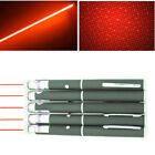 5X 4mW Military Visible Light Red Laser Pointer Pen 10Miles 650nm Star Pet Toy