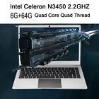 Ultra-thin Laptop 14'' Screen 1366*768Display pixel 6G+64G Windows10 Notebook