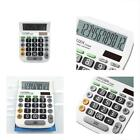 Calculator,12-Digits Button Solar Battery Dual Power Large Display Handheld