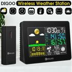 Digoo Wireless LCD Color Weather Station Thermometer Barometer + Outdoor Sensor