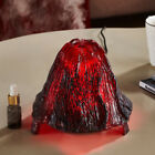 7- Color Changing Lights Volcanic Essential Oil Diffuser, Aroma Air Purifier