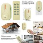 Bestten Wireless Remote Control Socket Outlet Switch Set Learning Code, 1 1 With