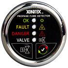 Xintex Propane Fume Detector w/Automatic Shut-Off & Plastic Sensor - No Solenoid