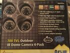 700 TVL Outdoor Ir Dome Camera 4-Pack
