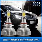 9006 HB4 60W 6000LM CREE LED Headlights Kit Bulbs Fog Lamp Low Beam 6000K White