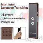 Portable Travel Smart Voice Translator Two-Way Real Time 33 Language Translation