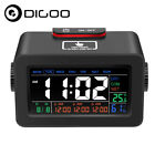 Digoo Touch Adjust Backlight Alarm Clock Snooze with Date Temperature Humidity