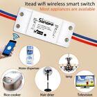5PCS Sonoff WiFi Wireless ABS Switch Module Timer Home Smart Socket Remote