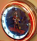 "CAPTAIN MORGAN NEON CLOCK (19"" DIAMETER) - NEW"