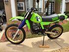 1983 Kawasaki KX  1983 KX500 restoration project - Vintage motocross