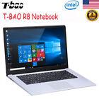 "T-BAO R8 15.6"" Laptop Windows 10 Intel 4GB+64GB WIFI HDMI Super Thin Notebook"