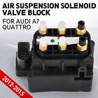 de Valve Block Air Suspension Air Supply Fit for Audi A7 Quattro 4H0616013A al