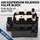 et Fit Audi A7 Quattro 4G 2012-2015 OEM Air Suspension Solenoid Valve Block ea