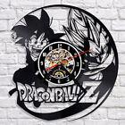 Dragon Ball Wall Clock Modern Design Cartoon Clocks Vinyl Wall Watch Home Decor