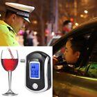 Alcohol Tester Breathalyzer Digital Breath Blow Analyser Professional AT6000 Por