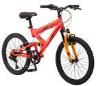 "Mountain Bike Mongoose 20"" Spectra Boys 7 Speed Cruising Neighborhood Mountain"