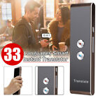 Easy Smart Language Translator Instant Voice Speech Bluetooth 33 Languages Trans