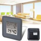 Multi Digital Display Alarm Clock Thermometer Humidity LCD Calendar Weather