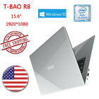 "T-BAO R8 Windows 10 15.6"" 1920*1080 Intel Atom 4GB 64GB HDMI BT Notebook Laptop"
