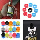 Mixed Colour Pack of 10 Vape Bands Rings Silicone Logo For Mod RTA RDA
