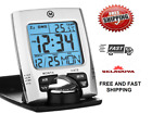 CL030023 Travel Marathon  Alarm Clock Calendar & Temperature - Battery Included