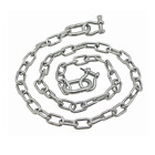 "Extreme Max Anchor Chain 3/16""x4' Stainless 3006.6575 BoatTector Steel"