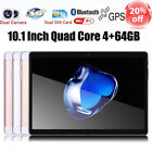 10.1'' Tablet PC Android 6.0 Quad Core 64GB 10 Inch HD WIFI 2 SIM 4G Phablet